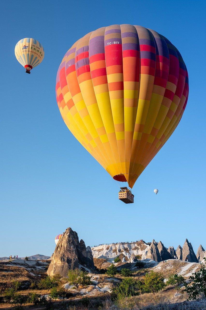 hot air balloons, balloons, ride